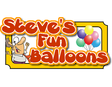 Steve's Fun Balloons Logo Design from Nuesite.com